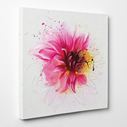 Tableau toile - Design Fleur