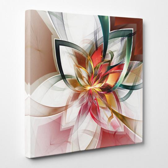 Tableau toile - Fleur Abstrait