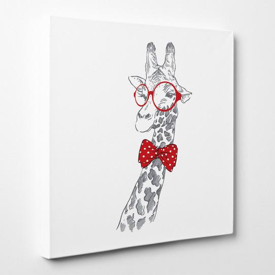 Tableau toile - Girafe Cool 7