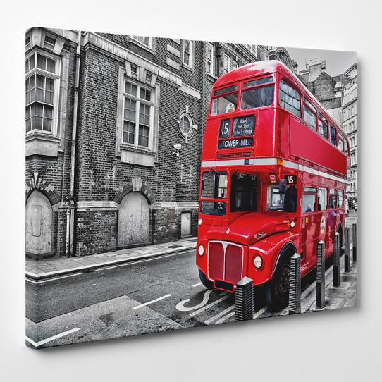 Tableau toile - London Bus