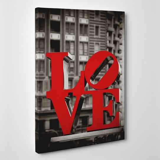 Tableau toile - Love