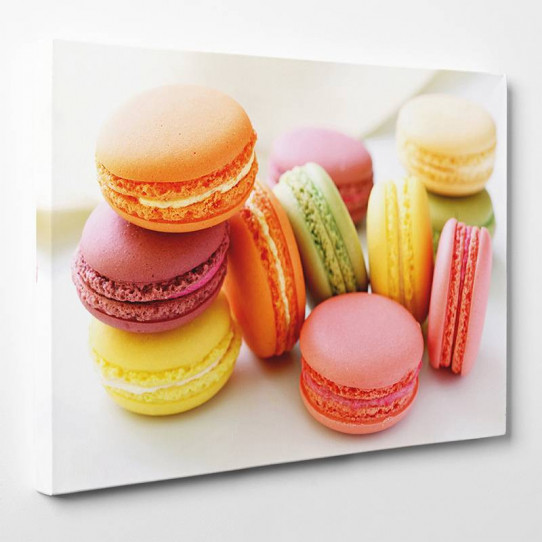 Tableau toile - Macarons 10