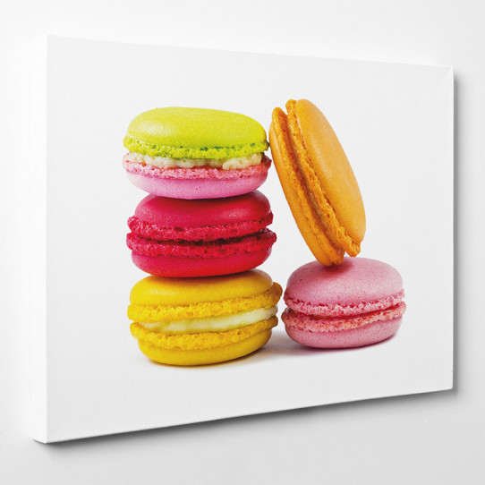 Tableau toile - Macarons 12