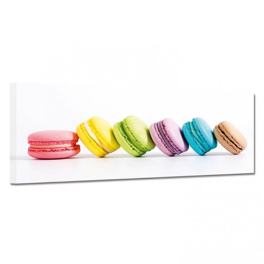 Tableau toile - Macarons 19