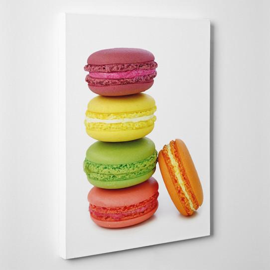 tableau toile macarons 2 des prix 50 moins cher qu 39 en. Black Bedroom Furniture Sets. Home Design Ideas
