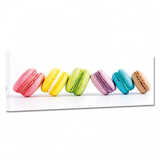 Tableau toile - Macarons 20