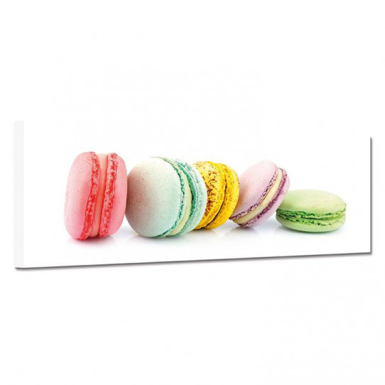 Tableau toile - Macarons 21