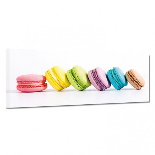 Tableau toile - Macarons 22