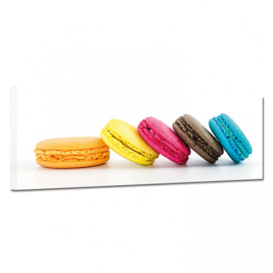 Tableau toile - Macarons 28
