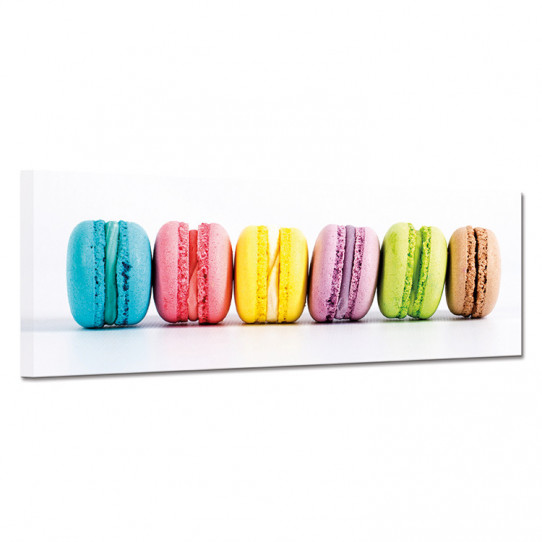 Tableau toile - Macarons 31