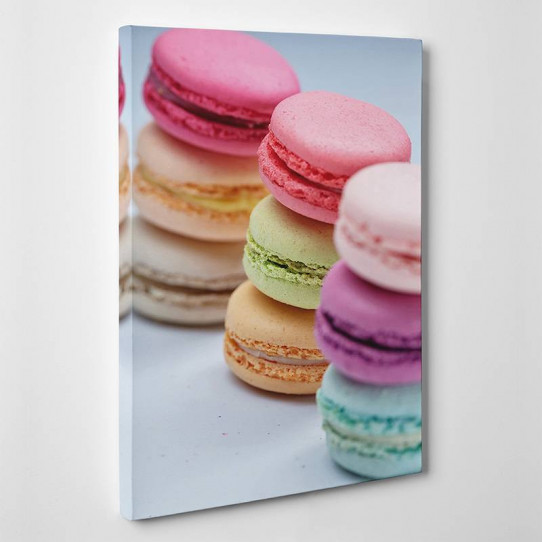 Tableau toile - Macarons 4