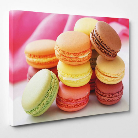 Tableau toile - Macarons 9