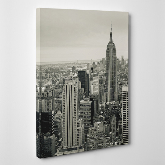 Tableau toile - New York Black&White