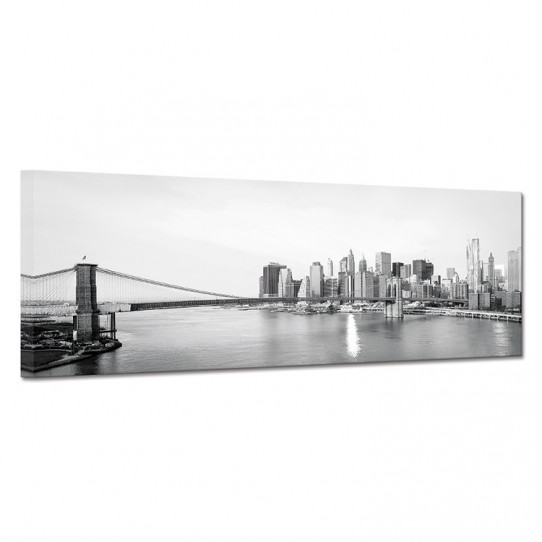 Tableau toile - New York Black&White 2