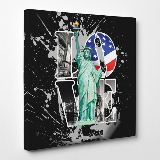 Tableau toile - New York Love 3