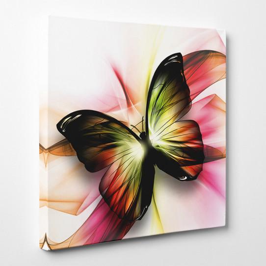Tableau toile - Papillon Abstrait 2