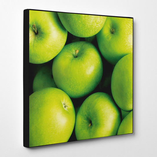 Tableau toile - Pommes Vertes