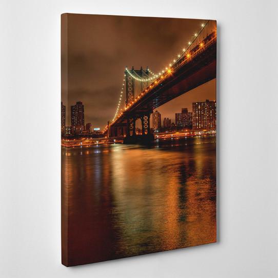 Tableau toile - Pont Manhattan