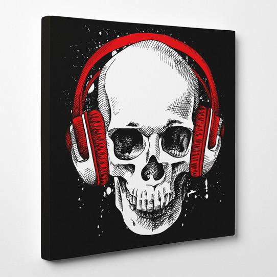 Tableau toile - Skull 10