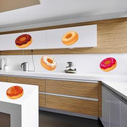 Kit stickers 7 donuts