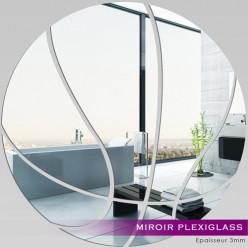 Miroir Plexiglass Acrylique - Ballon Basket-Ball