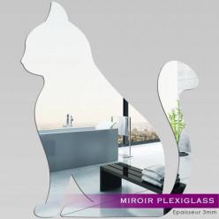 Miroir Plexiglass Acrylique - Chat