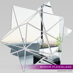 Miroir Plexiglass Acrylique - Géométrique