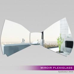 Miroir Plexiglass Acrylique - Noeud Papillon