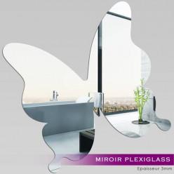 Miroir Plexiglass Acrylique - Papillon 1