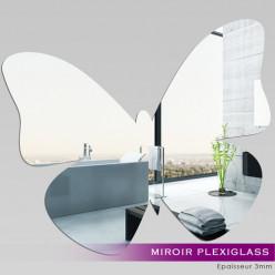 Miroir Plexiglass Acrylique - Papillon 3