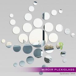 Miroir Plexiglass Acrylique - Spirale
