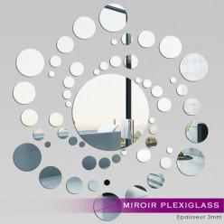 Miroir Plexiglass Acrylique - Spirale 3