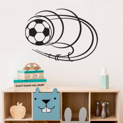Stickers ballon foot