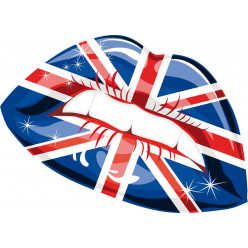 Stickers bouche london