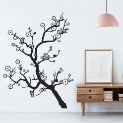 Stickers branche arbre fleur