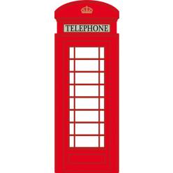Stickers cabine téléphone london