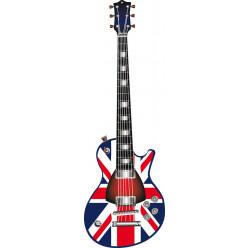 Stickers guitare angleterre