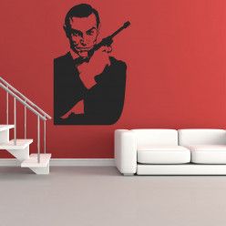 Stickers james bond