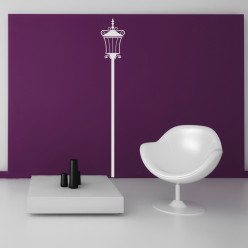 Stickers lampadaire