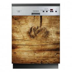 Stickers lave vaisselle bois