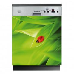 Stickers lave vaisselle coccinelle