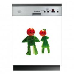 Stickers lave vaisselle légumes