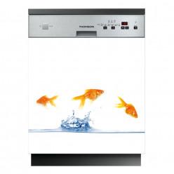 Stickers lave vaisselle poissons