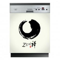 Stickers lave vaisselle zen