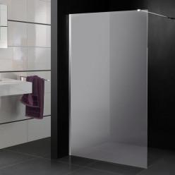 Stickers paroi de douche dépoli uni simple
