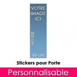 Stickers Personnalisable Pour Porte 63x205 cm
