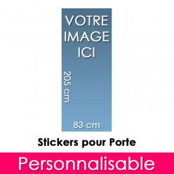 Stickers Personnalisable Pour Porte 83x205 cm