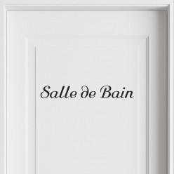 Stickers Salle de Bain