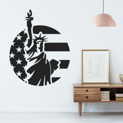 Stickers statue liberté