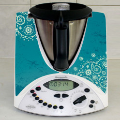 Stickers Thermomix TM 31 Turquoise